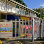 Front gate of St Mary's childcare centre
