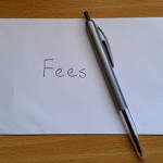 Envelope for fees